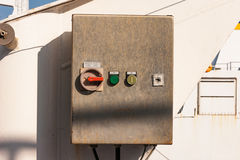 Electronic control  box Stock Photography