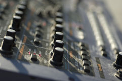 Electronic control panel Stock Images