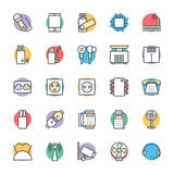 Electronic Cool Vector Icons 3 Royalty Free Stock Images