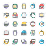 Electronic Cool Vector Icons 1 Royalty Free Stock Image