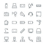 Electronic Cool Vector Icons 4 Stock Photos