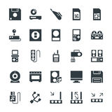 Electronic Cool Vector Icons 7 Stock Photo
