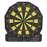 Electronic dart board Stock Photos