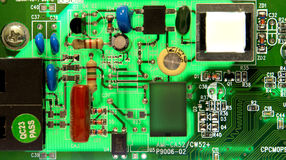 Electronic device close up: technology concept. / chip Stock Photography