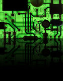 Electronic device close up: technology concept. / chip Stock Images