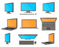 Electronic Device Flat Icons Royalty Free Stock Image