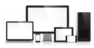 Electronic devices Stock Image