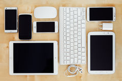 Electronic devices stock photos