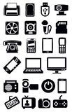 Electronic devices icon Stock Photography