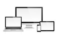 Electronic devices Royalty Free Stock Photos