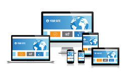 Electronic devices Royalty Free Stock Photography