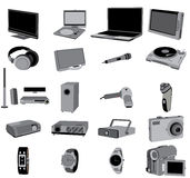 Electronic devices Royalty Free Stock Image