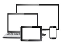 Electronic devices vector eps Royalty Free Stock Photo