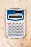 Electronic digital calculator. Royalty Free Stock Photo