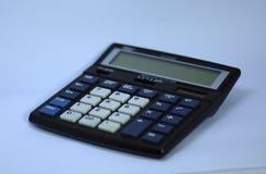 A electronic digital calculator stock photo