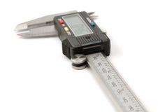 Electronic digital caliper Stock Image