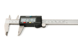 Electronic digital caliper Stock Photography