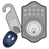 Electronic Digital Lock Stock Images