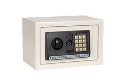 Electronic digital safe Stock Image