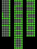 Electronic Display Numbers Royalty Free Stock Photos