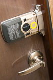 Electronic door lock Stock Photography