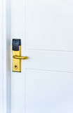 Electronic door lock Royalty Free Stock Photos