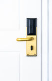 Electronic door lock Royalty Free Stock Images