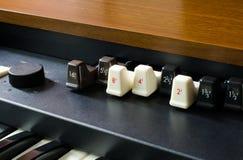 Free Electronic Drawbar Organ Stock Photography - 41922832