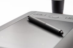 Electronic Drawing Tablet Stock Photo