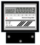 Electronic Energy Meter Stock Images