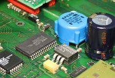 Electronic Engineering, Circuit Component, Electronic Component, Technology stock image