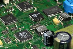 Electronic Engineering, Electronic Component, Technology, Circuit Component stock photo