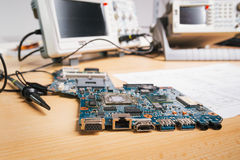 Electronic equipment in service Royalty Free Stock Images