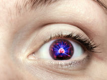 Electronic eye Royalty Free Stock Photography