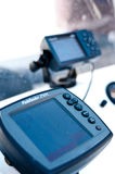 Electronic fishing gear Stock Images