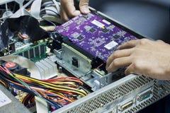 Electronic fixing Stock Photos