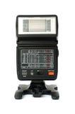 Electronic flash. Electronic wireless compact photo flash Stock Photo
