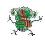 Electronic Frog Stock Photo
