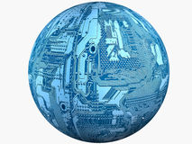 Electronic globe Stock Photos