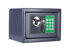Electronic home safe Royalty Free Stock Image