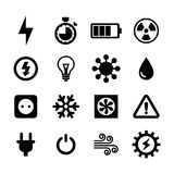 Electronic Icon stock illustration