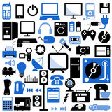 Electronic icons. Set of electronic icons vector vector illustration