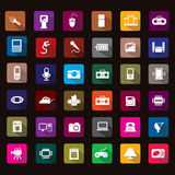 Electronic icon Royalty Free Stock Photography