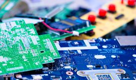 Free Electronic Industry Devices Waste  Recycling Royalty Free Stock Photography - 187459377