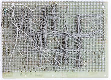 Electronic integrated circuit Stock Images