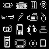 Electronic item icon Royalty Free Stock Photos