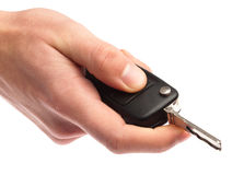 Electronic key of car Stock Images