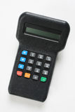 Electronic key pad. An electronic key pad for a credit card payment machine Stock Images