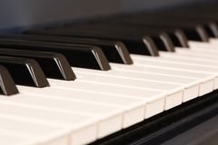 Electronic keyboard stock photos