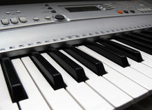 Electronic Keyboard Stock Image